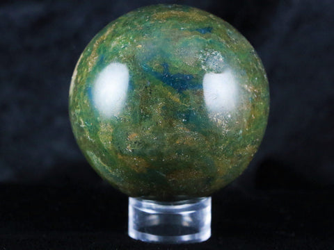 NATURAL POLISHED OCEAN JASPER CRYSTAL SPHERE FROM MADAGASCAR 62MM 11 OZ - Fossil Age Minerals