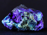 Iridescent Rainbow Specularite Hematite Rock Mineral Specimen Coated From Arizona - Fossil Age Minerals