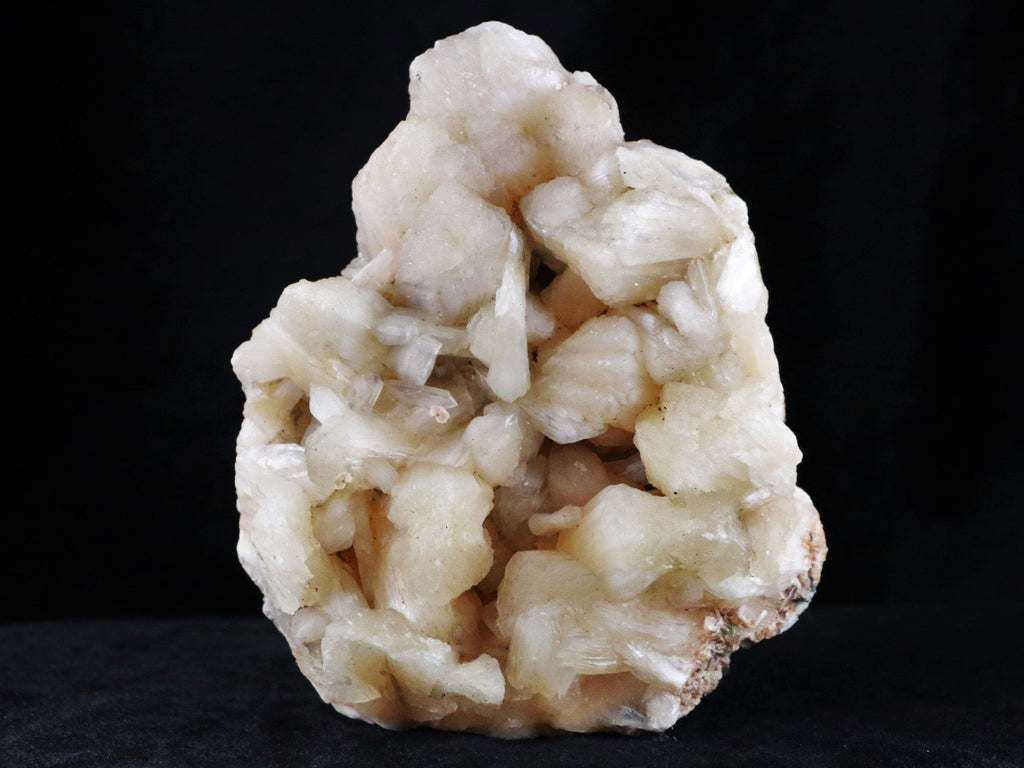 XL Large Peach Stilbite Crystal Mineral Cluster From India 14.3 Ounces - Fossil Age Minerals