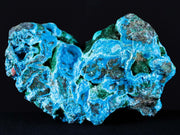 Rough Turquoise Botryoidal Chrysocolla & Green Malachite Mineral Specimen D.R. Congo Africa - Fossil Age Minerals