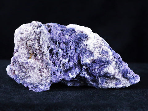 NATURAL PURPLE CALICO FLUORITE MINERAL SPECIMEN FLUORSPAR NEW FIND JUAB, UTAH 4.5 OUNCES - Fossil Age Minerals