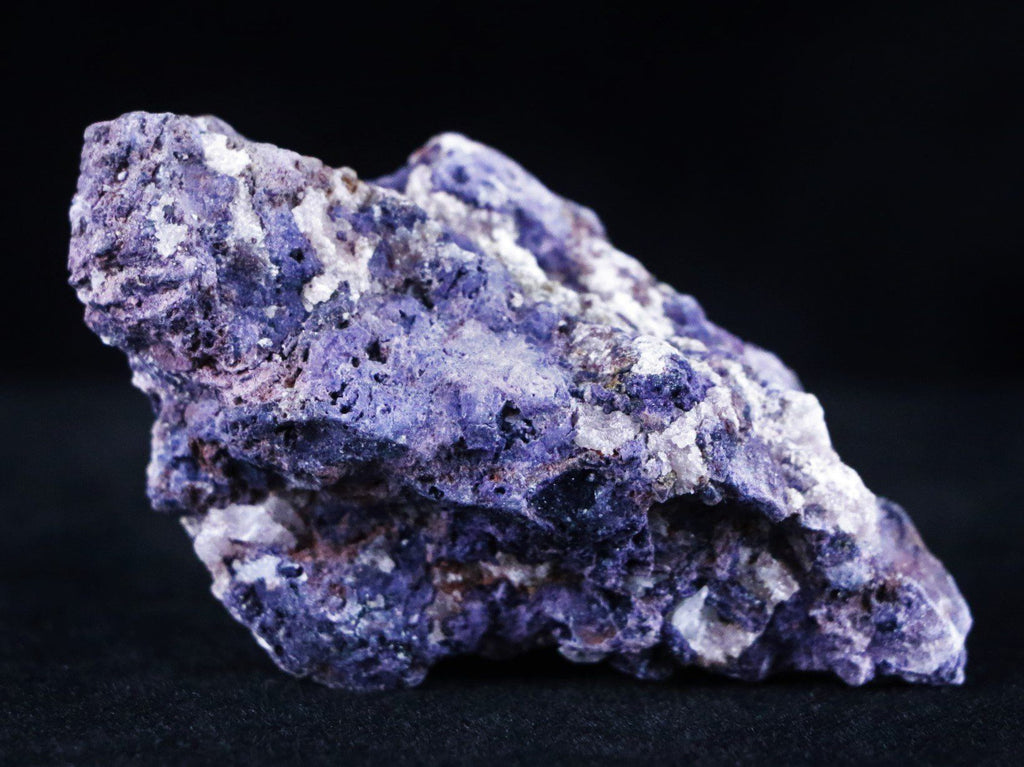 Natural Purple Calico Fluorite Mineral Specimen Fluorspar New Find Juab, Utah 1.6 Ounces - Fossil Age Minerals