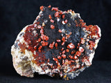 Vanadinite Crystals Mineral Specimen From Mibladen From Morocco 10.5 Ounces Healing - Fossil Age Minerals