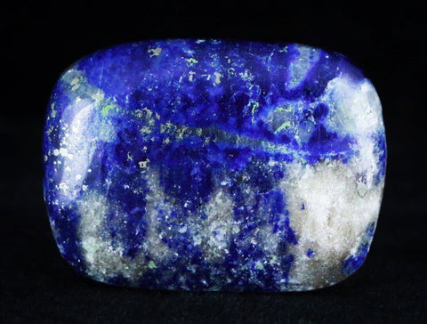 NATURAL LOOSE BLUE LAPIS LAZULI CABOCHON CAB LOOSE GEMSTONE-Fossil Age Minerals