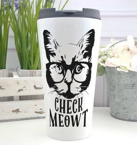 Check Meowt Coffee Tumbler
