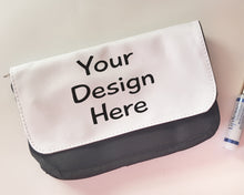 custom personalized makeup clutch bag