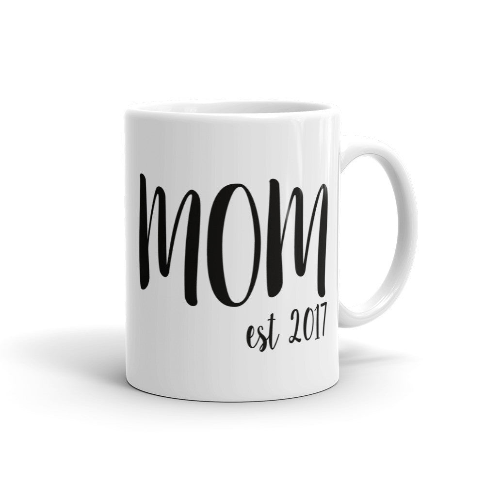 Mom Est Coffee Mug