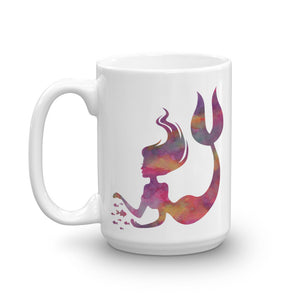 Watercolor Mermaid Coffee Mug