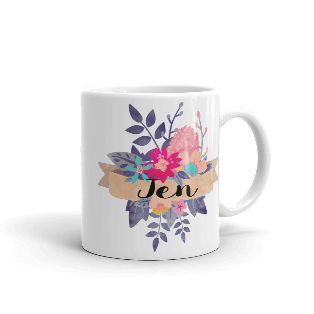 Personalized Banner Coffee Mug