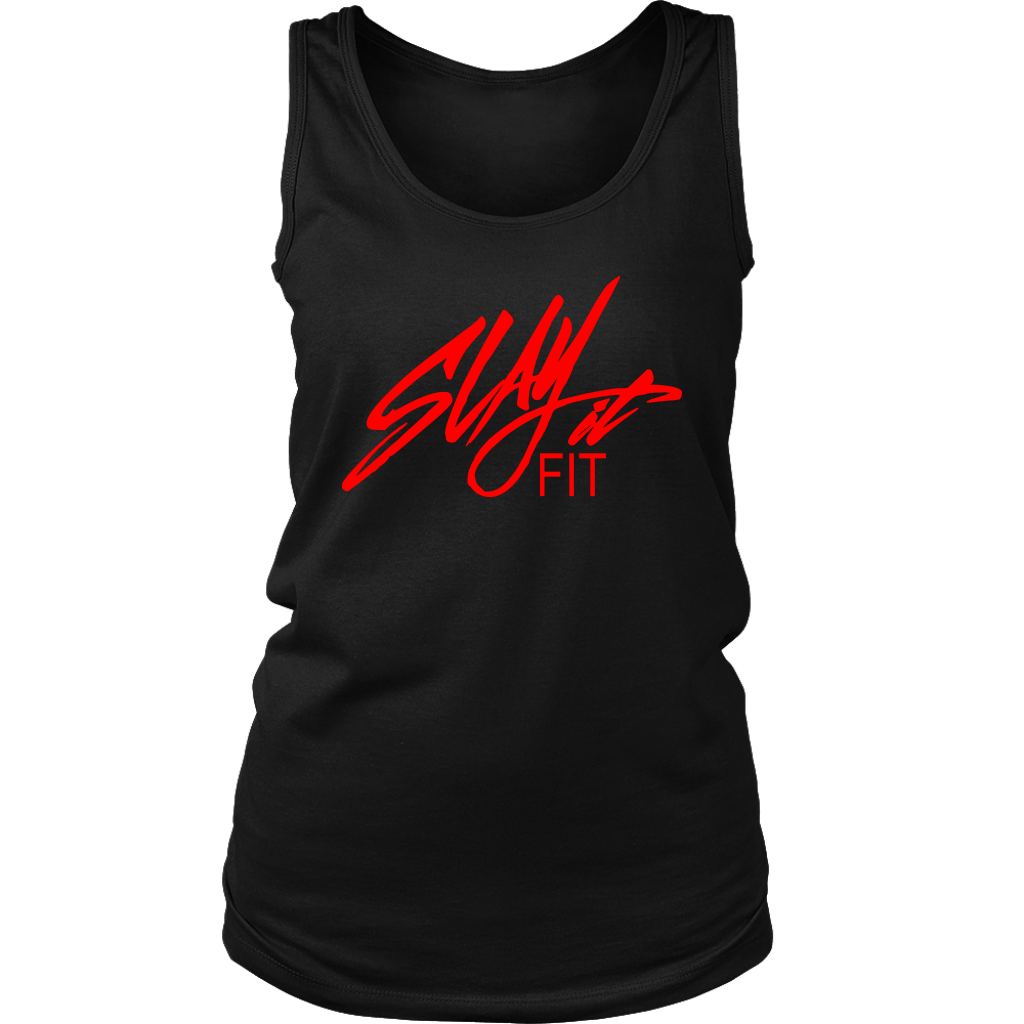 Slayit Fit Logo Muscle Tank