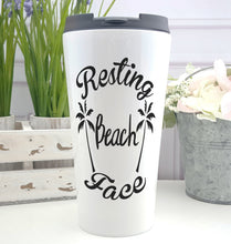 Resting Beach Face Coffee Tumbler