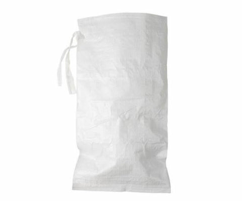 50 Pack - Empty White Poly Sandbags