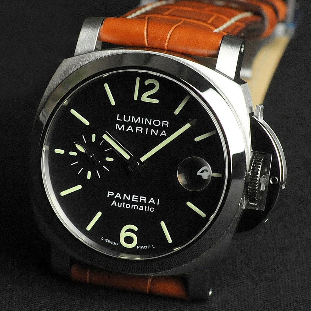 Panerai Luminor Marina Automatic Acciaio 40mm PAM00048 (Out of Production)