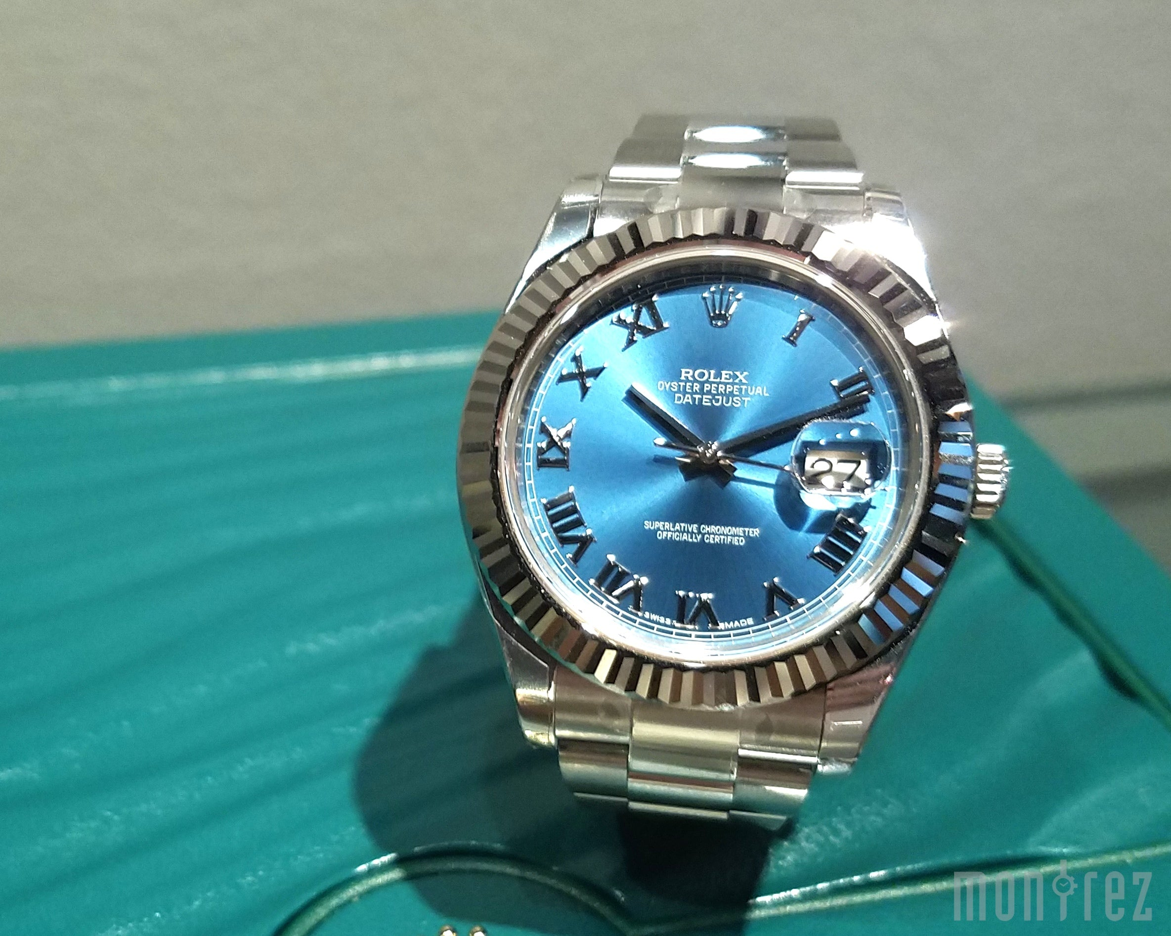 Rolex Datejust II 41mm 116334 Blue Roman Dial (Out of Production)