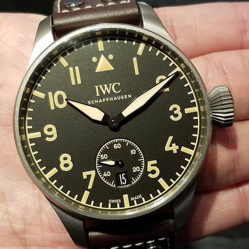[Brand New Watch] IWC Big Pilot's Heritage Watch 48mm IW510301 (Limited Edition of 1000 Pieces)