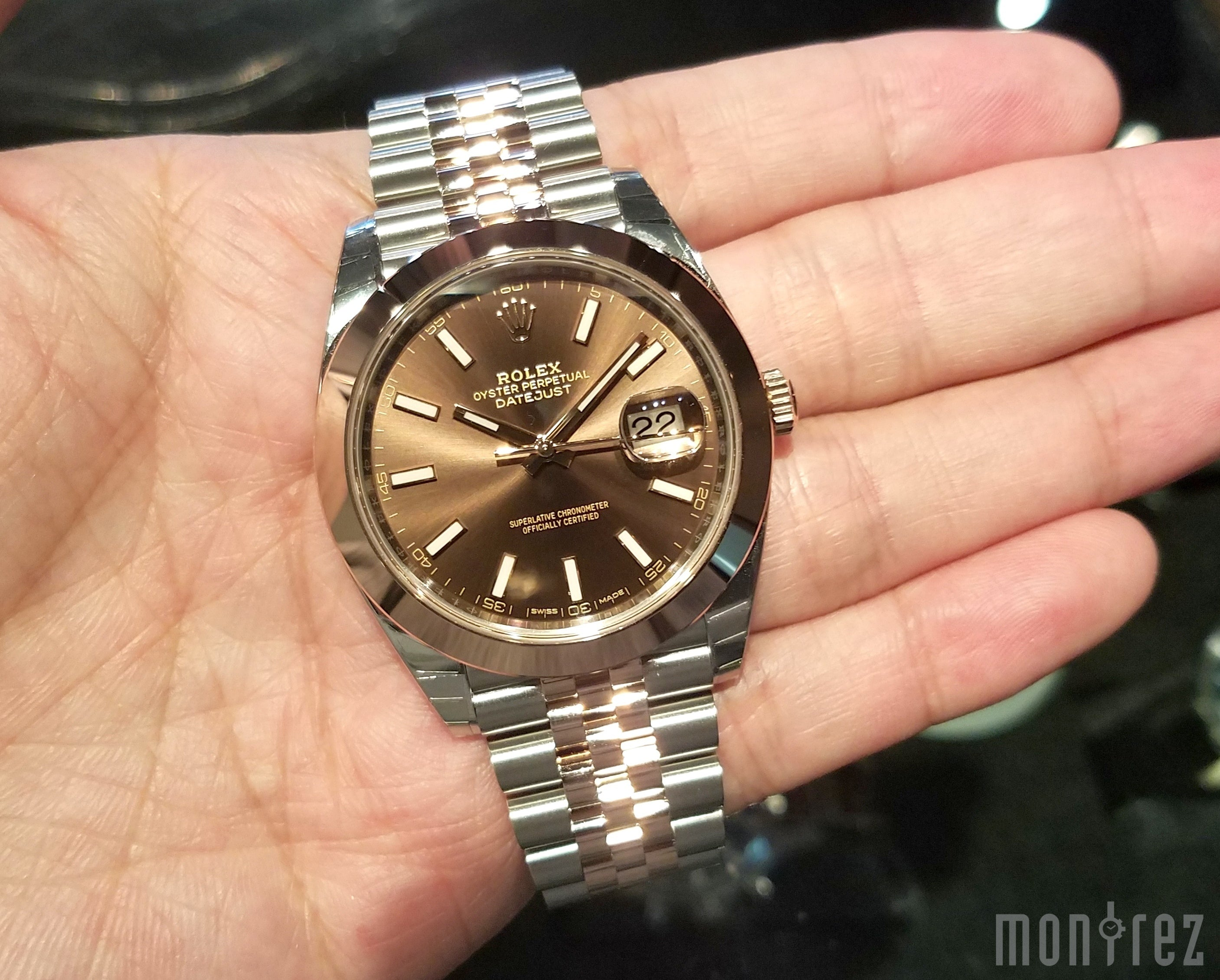 Rolex Datejust 41mm 126301 Chocolate Dial (Jubilee Bracelet)