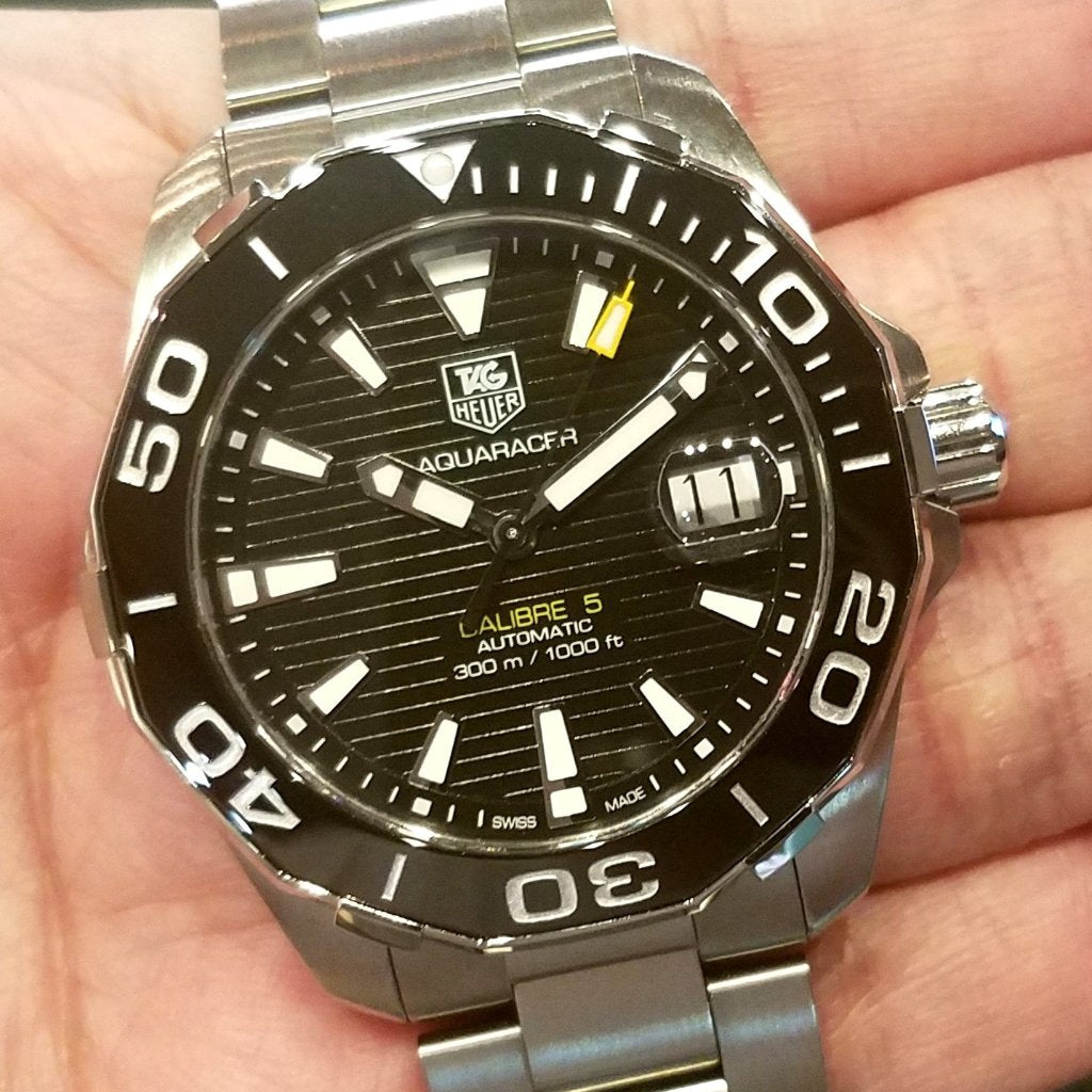 Tag Heuer Aquaracer Calibre 5 Automatic Watch 300m 41mm WAY211A.BA0928