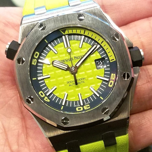 [Brand New Watch] Audemars Piguet Royal Oak Offshore Diver 42mm 15710ST.OO.A038CA.01 (2017 Boutique Limited Edition)
