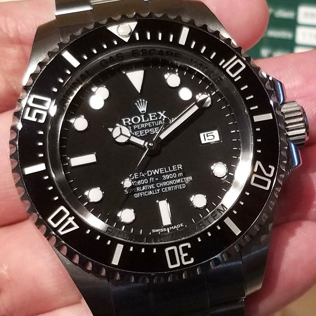 Rolex Deepsea 44mm 116660 Black Dial (888)