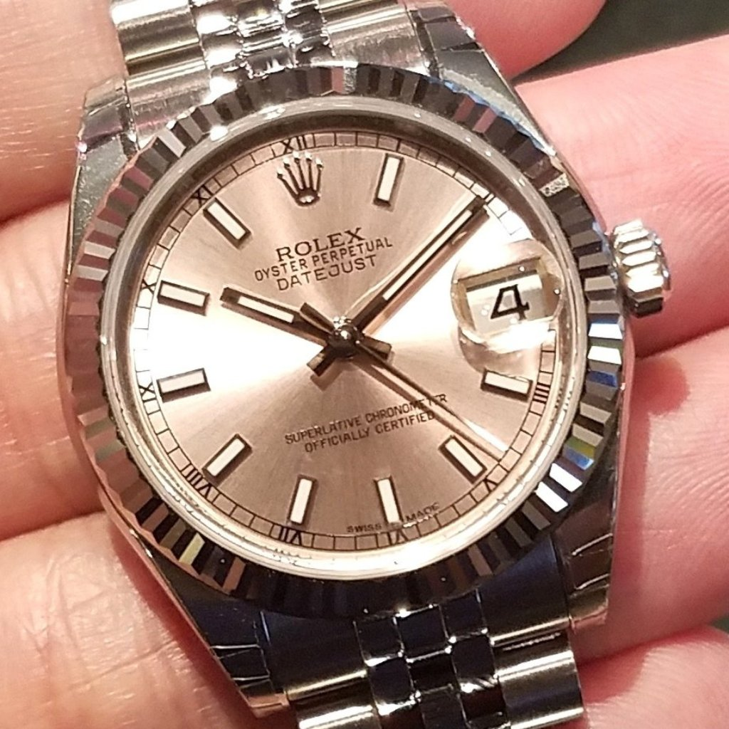 Rolex Datejust 31mm 178274 Pink Index Dial (Jubilee Bracelet)