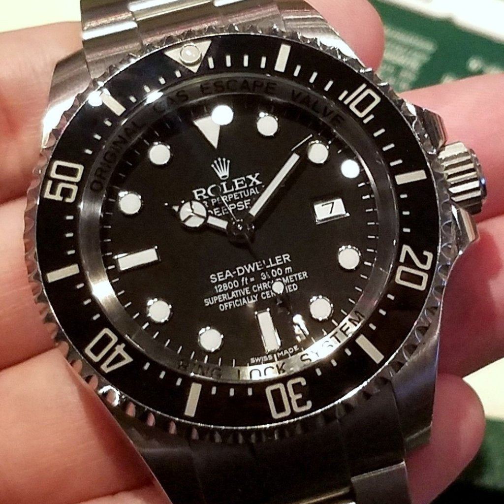 Rolex Deepsea 44mm 116660 Black Dial