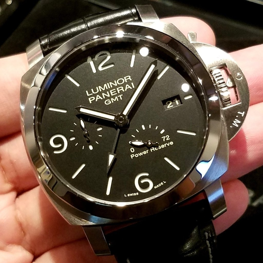 Panerai Luminor Marina 1950 3 Days GMT Power Reserve Auto. 44mm PAM00321 (Out of Production)