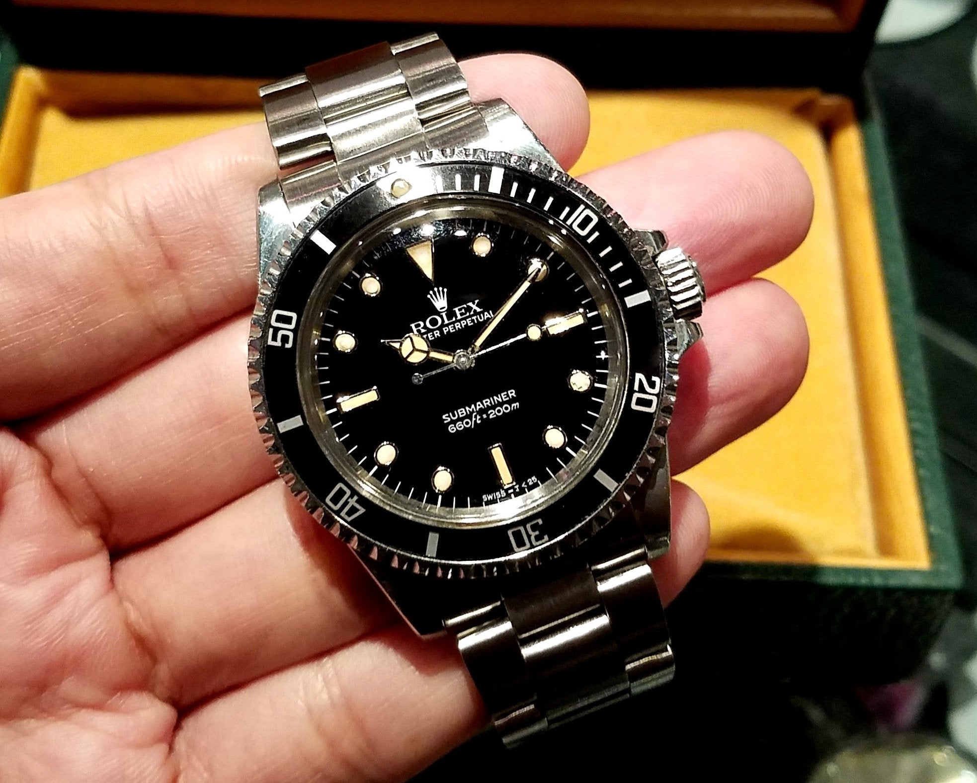 Rolex Submariner 40mm 5513 (Out of Production)