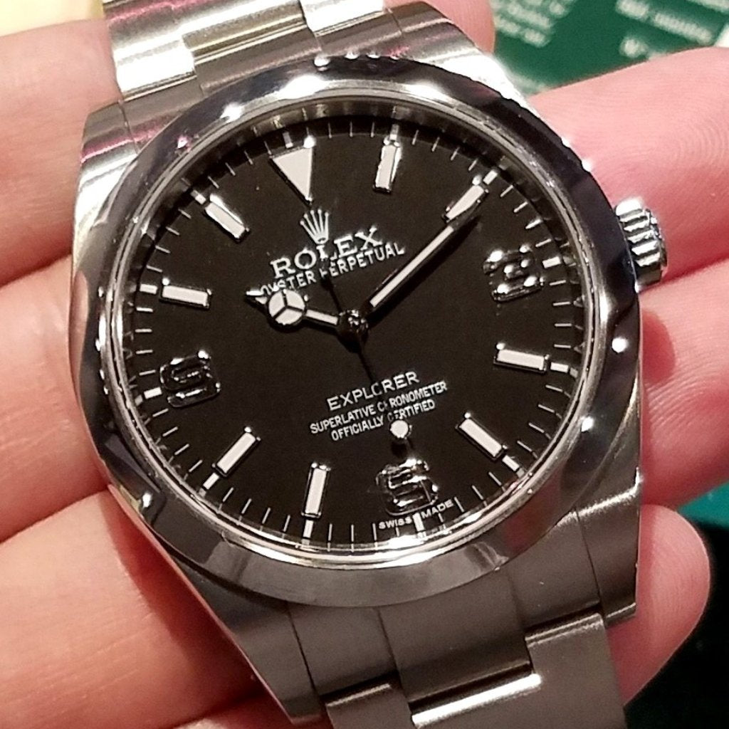 Rolex Explorer I 39mm 214270 (888) (Out of Production)