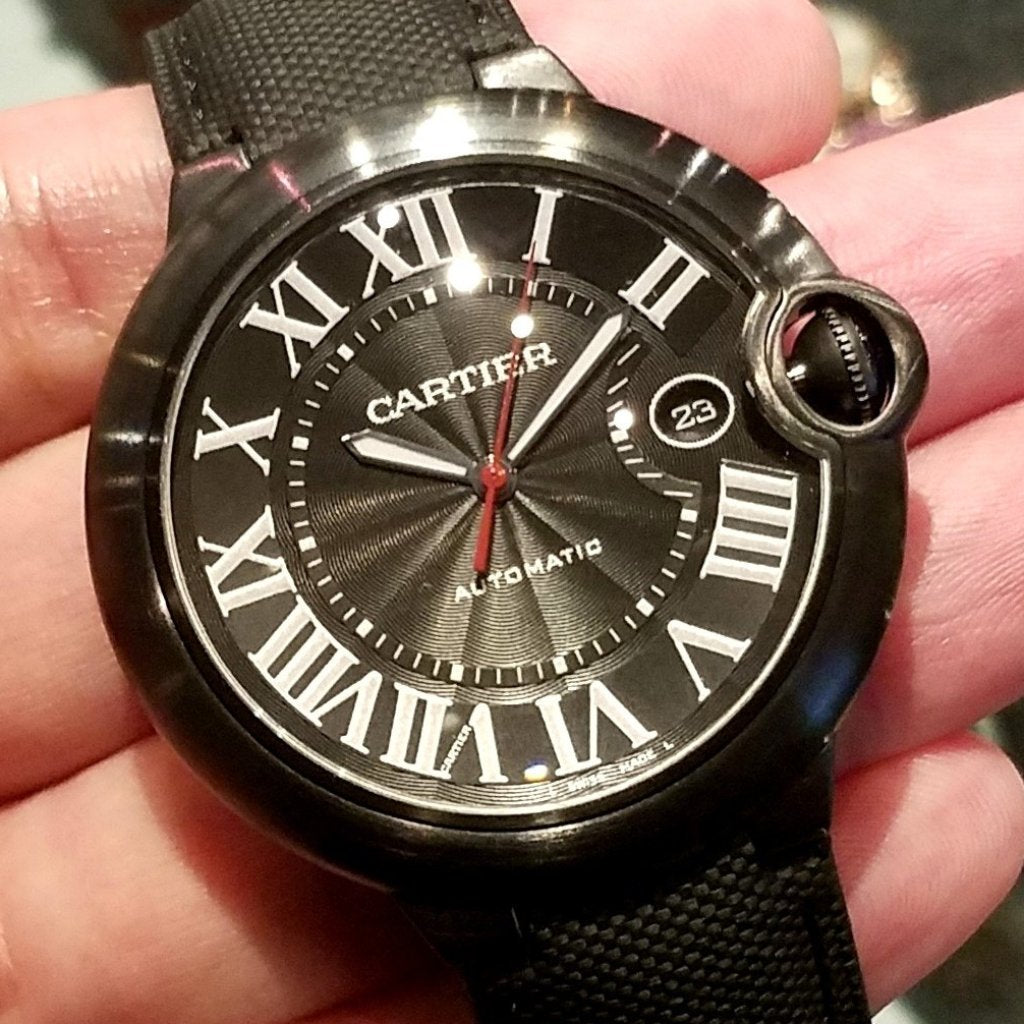 [Brand New Watch] Cartier Ballon Bleu de Cartier Carbon Watch 42mm WSBB0015