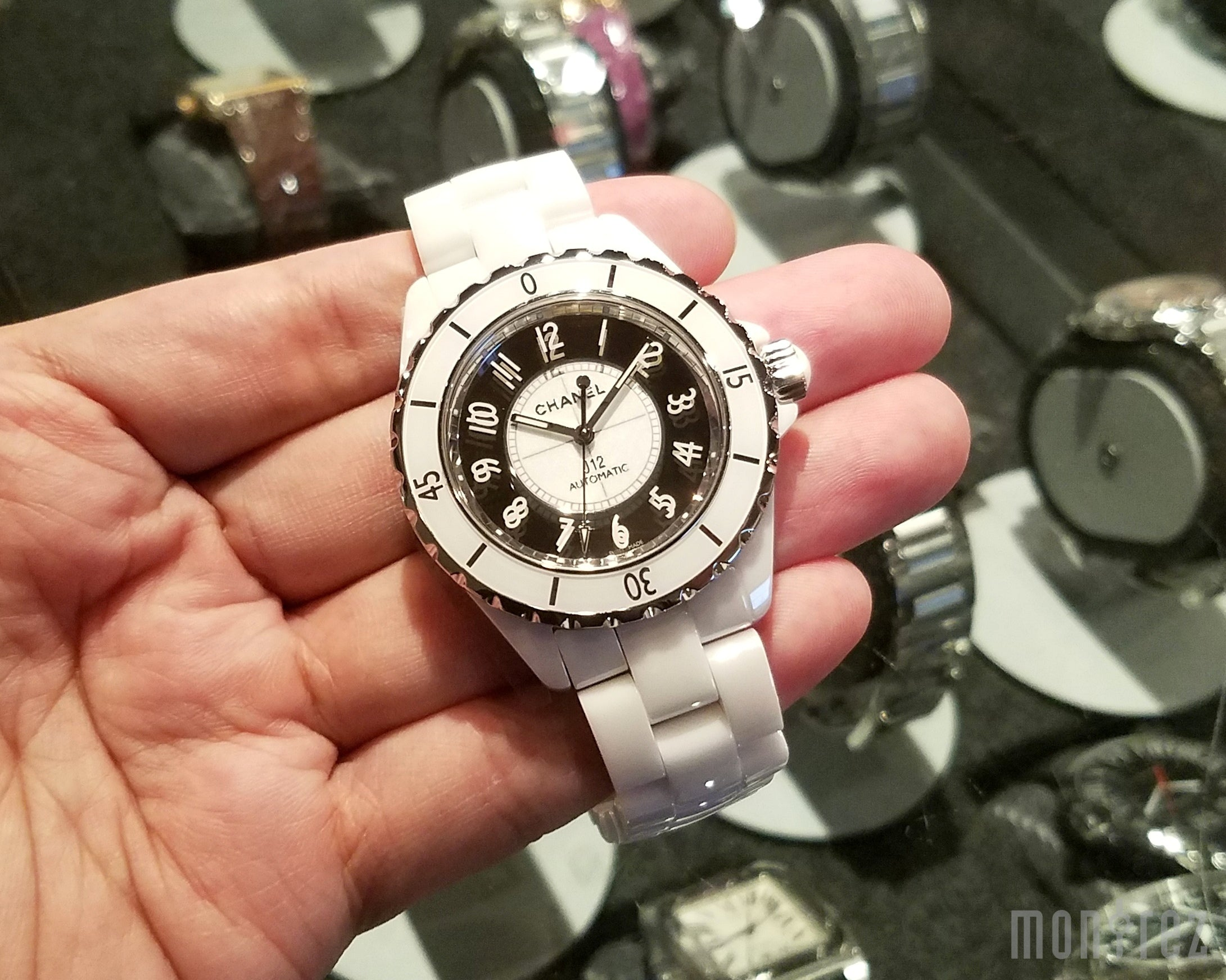 Chanel J12 Mirror 38mm H4862 (Limited Edition of 1200 Pieces)