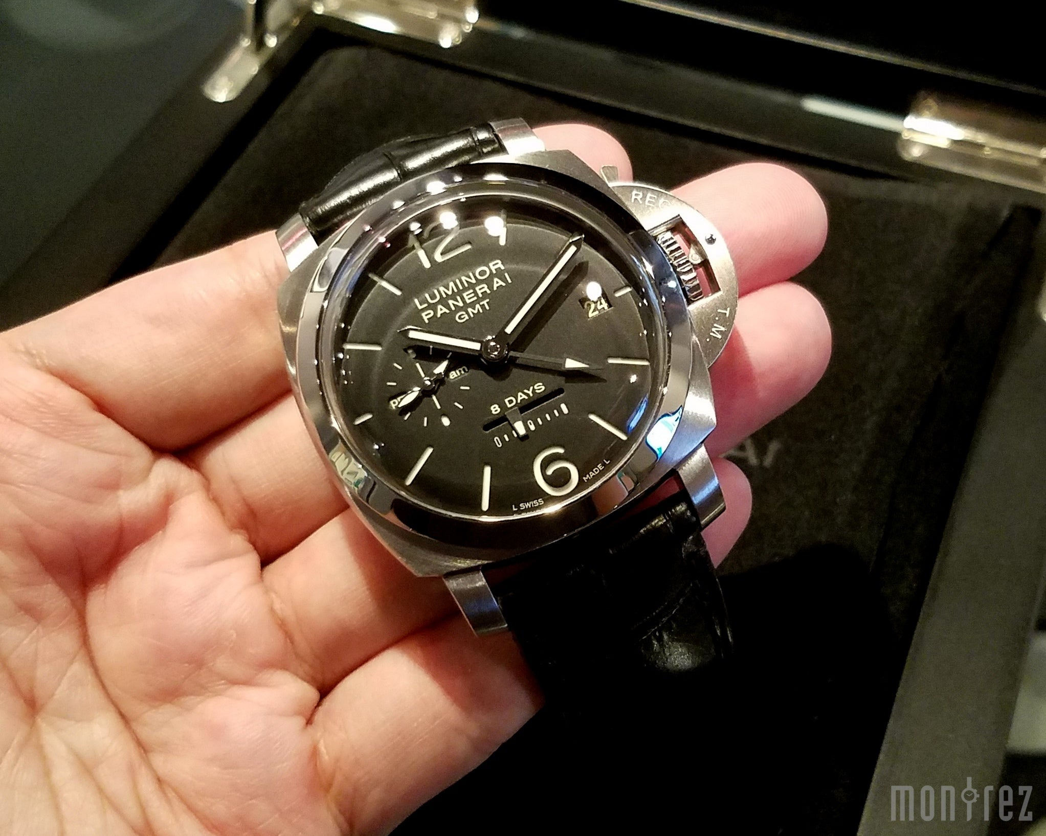 Panerai Luminor 1950 8 Days GMT Acciaio 44mm PAM00233