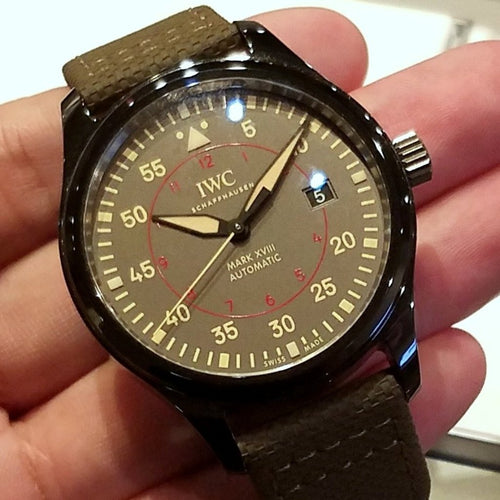 IWC Pilot's Watch Mark XVIII Top Gun Miramar 41mm IW324702
