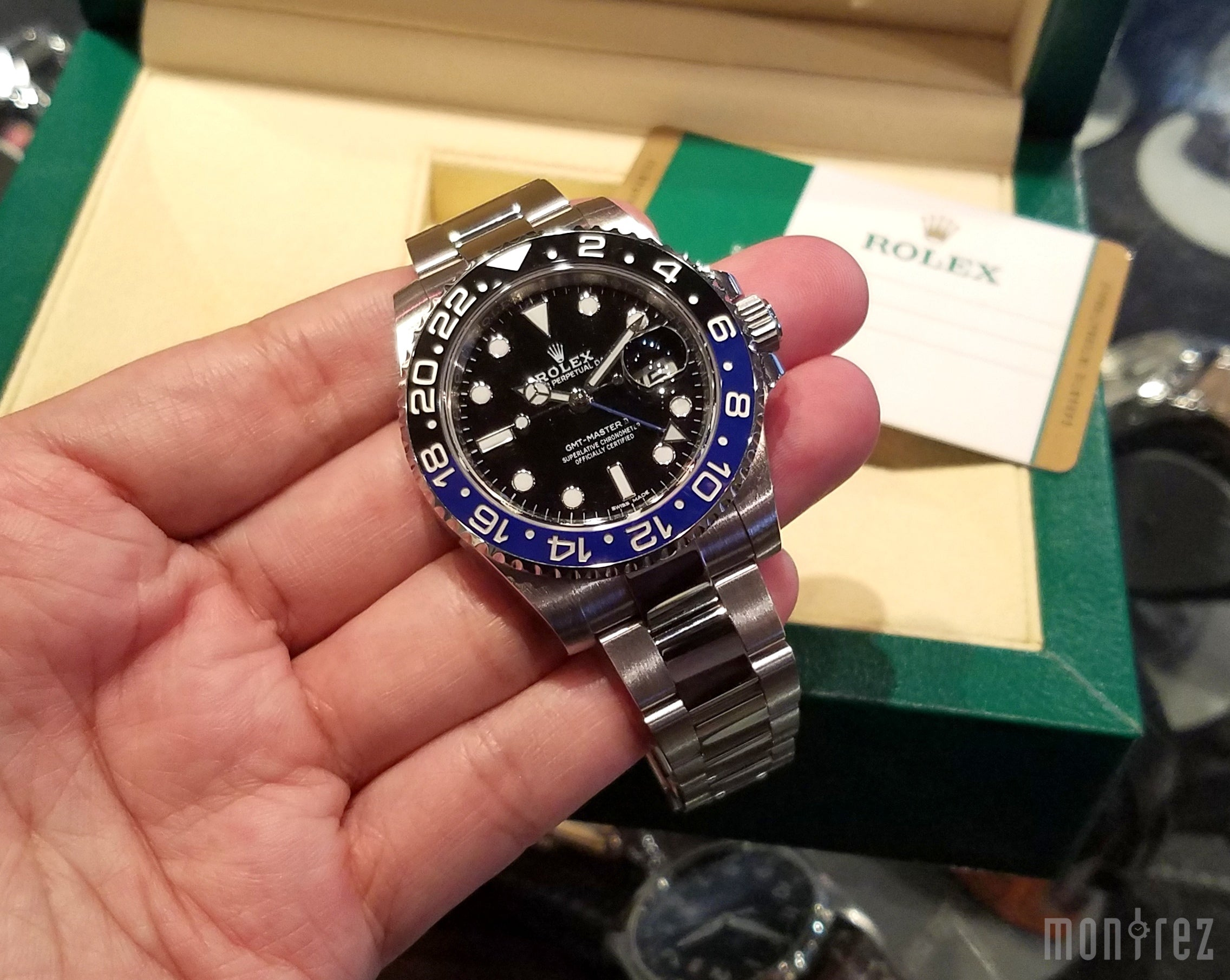 Rolex GMT-Master II 40mm 116710BLNR