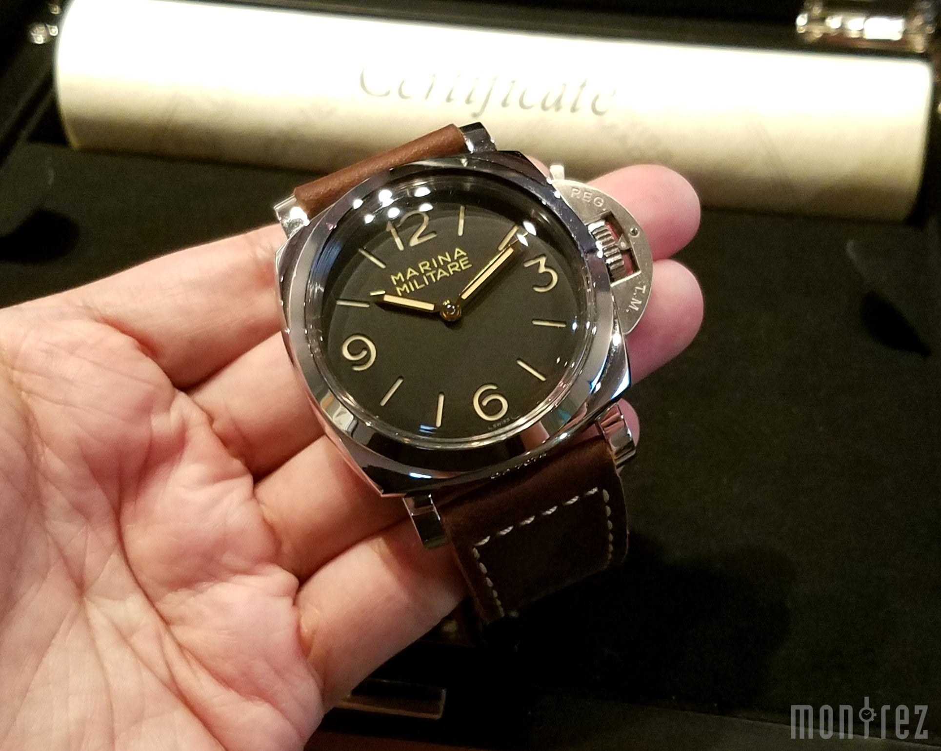 Panerai Luminor 1950 Marina Militare 3 Days Acciaio 47mm PAM00673 (Special Edition)