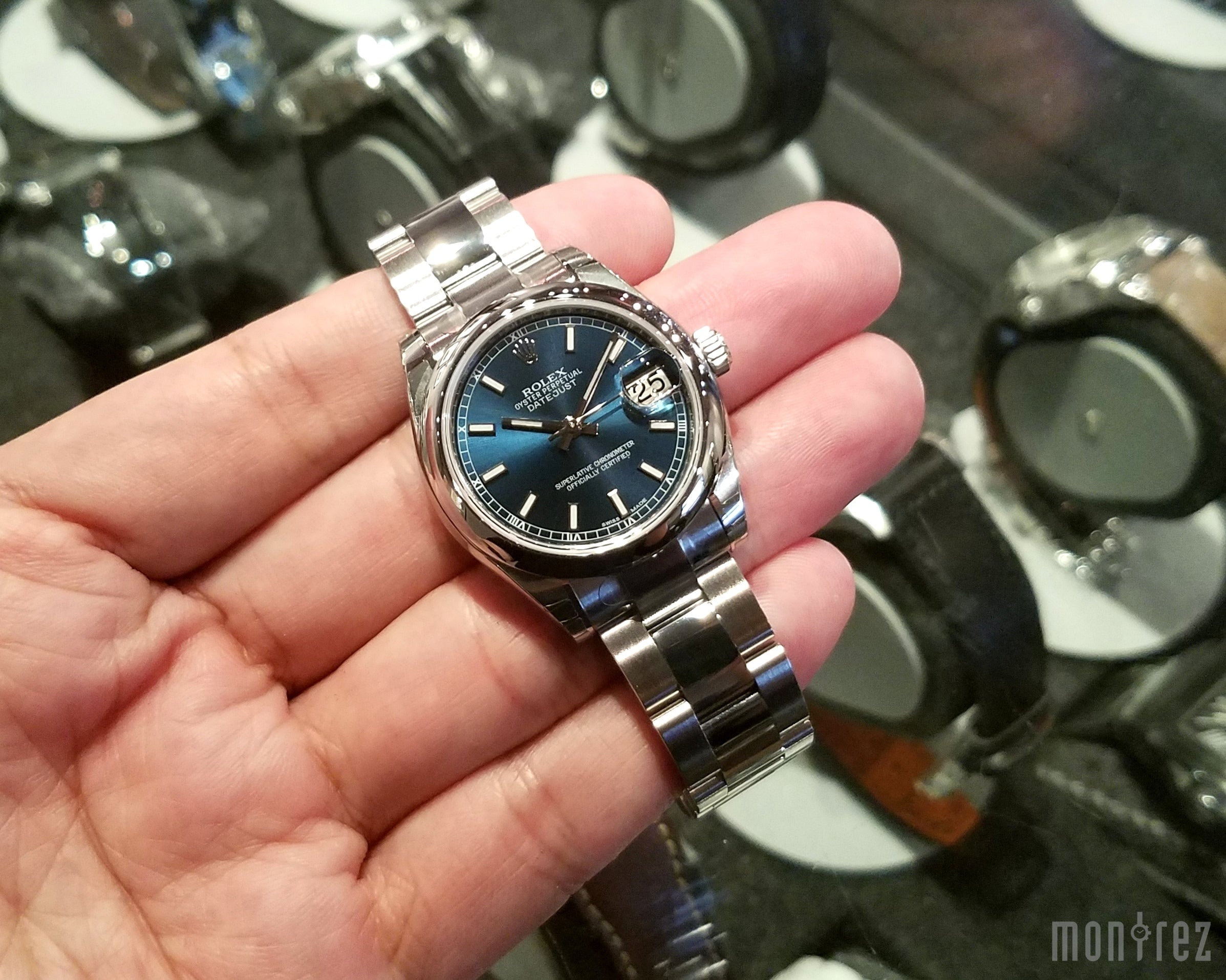 Rolex Datejust 31mm 178240 Blue Index Dial (Oyster Bracelet)
