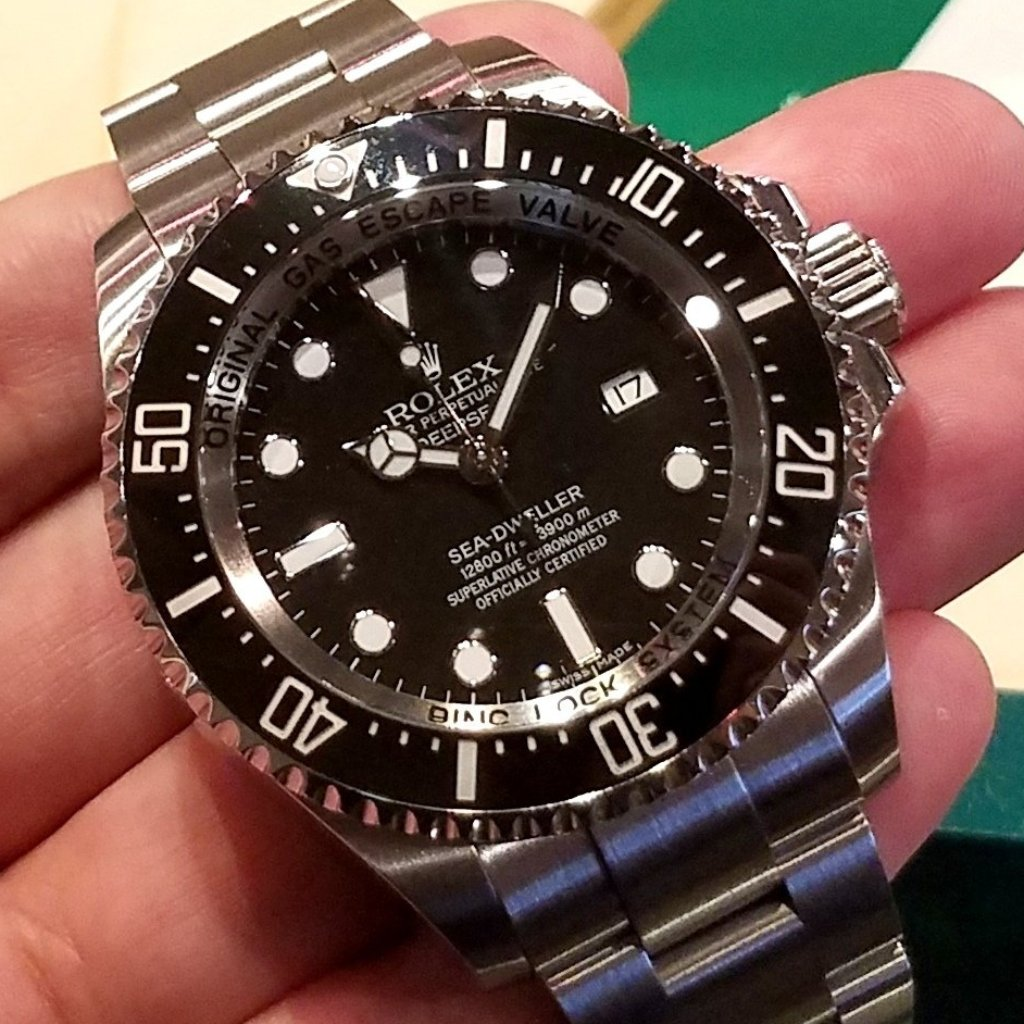 Rolex Deepsea 44mm 116660 Black Dial (Out of Production)
