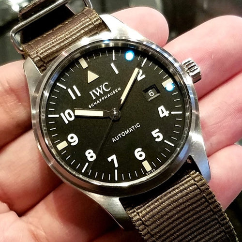 "IWC Pilot's Watch Mark XVIII Edition ""Tribute to Mark XI"" 40mm IW327007 (2017 Novelty) (Limited Edition of 1,948 Pieces)"