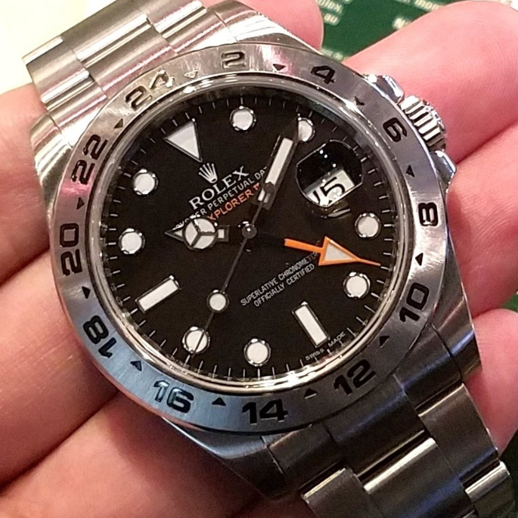 Rolex Explorer II 42mm 216570 Black Dial (888)