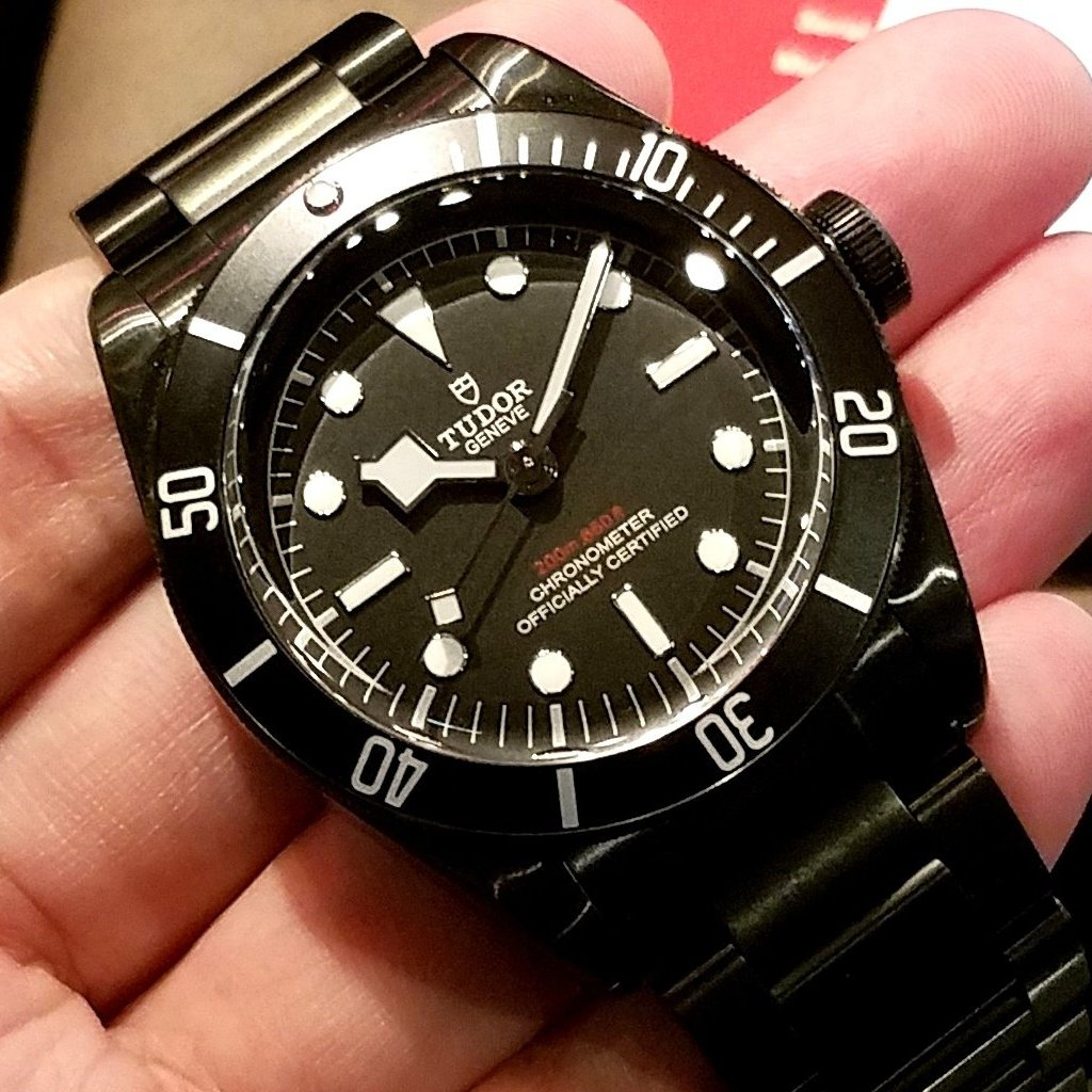 Tudor Heritage Black Bay Dark 41mm 79230DK Black (Steel Bracelet)