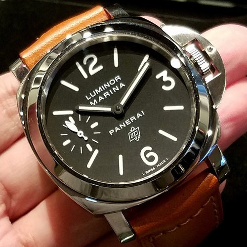 Panerai Luminor Marina Logo Acciaio 44mm PAM00005 (Out of Production)