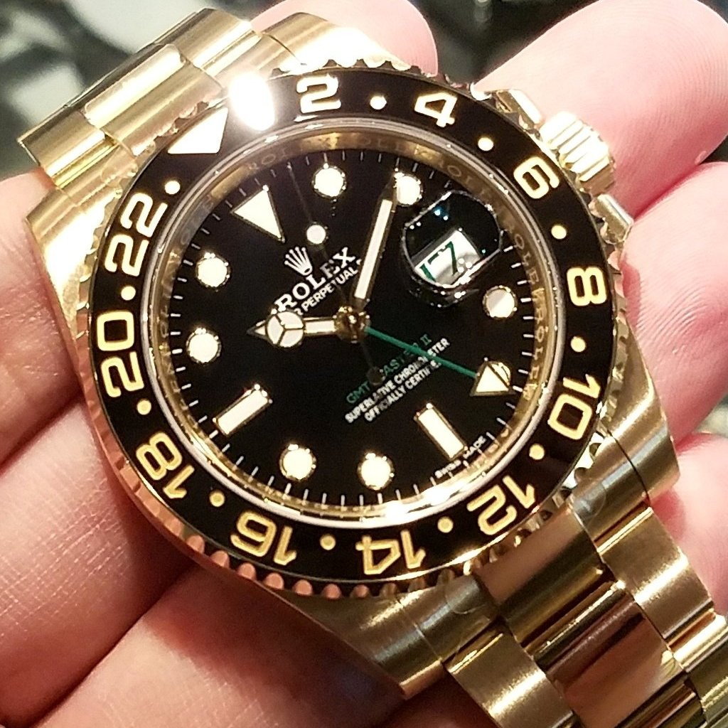 Rolex GMT-Master II 40mm 116718LN Black Dial