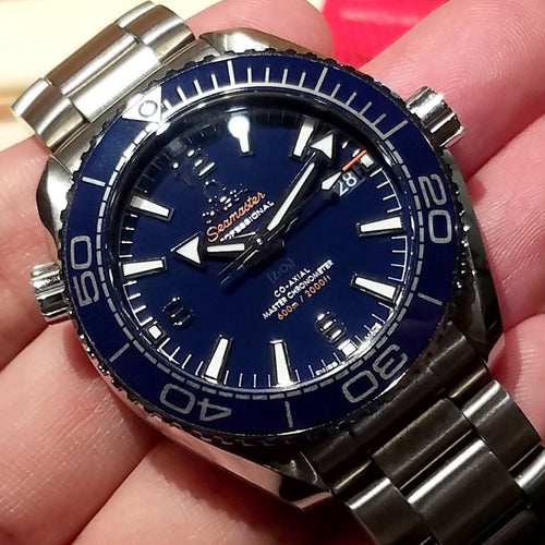 Omega Seamaster Planet Ocean 600m Co-Axial Master Chronometer 39.5mm 215.30.40.20.03.001