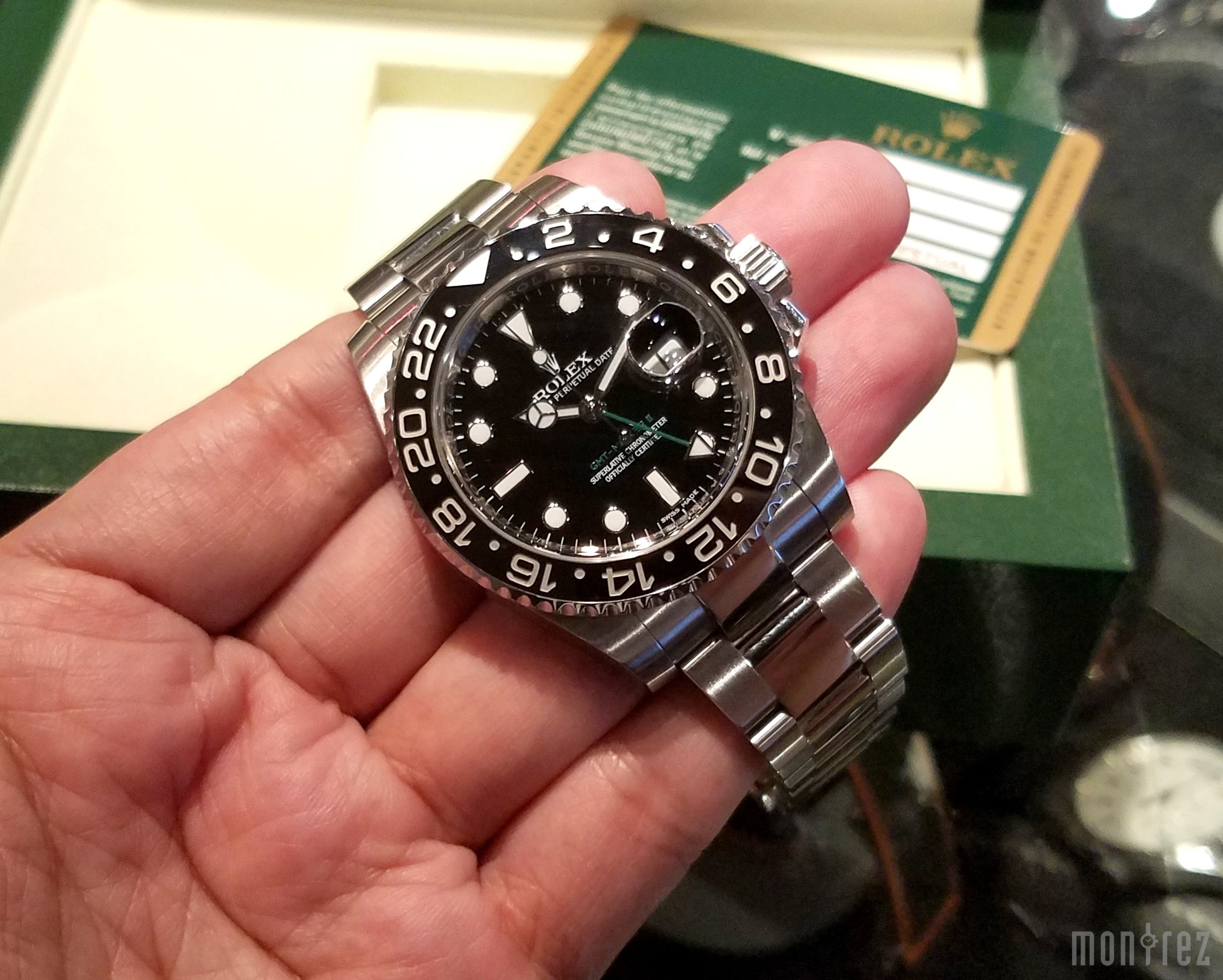 Rolex GMT-Master II 40mm 116710LN (888)