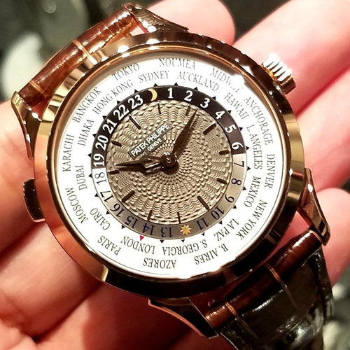 Patek Philippe Complications Automatic World Time 38.5mm 5230R-001