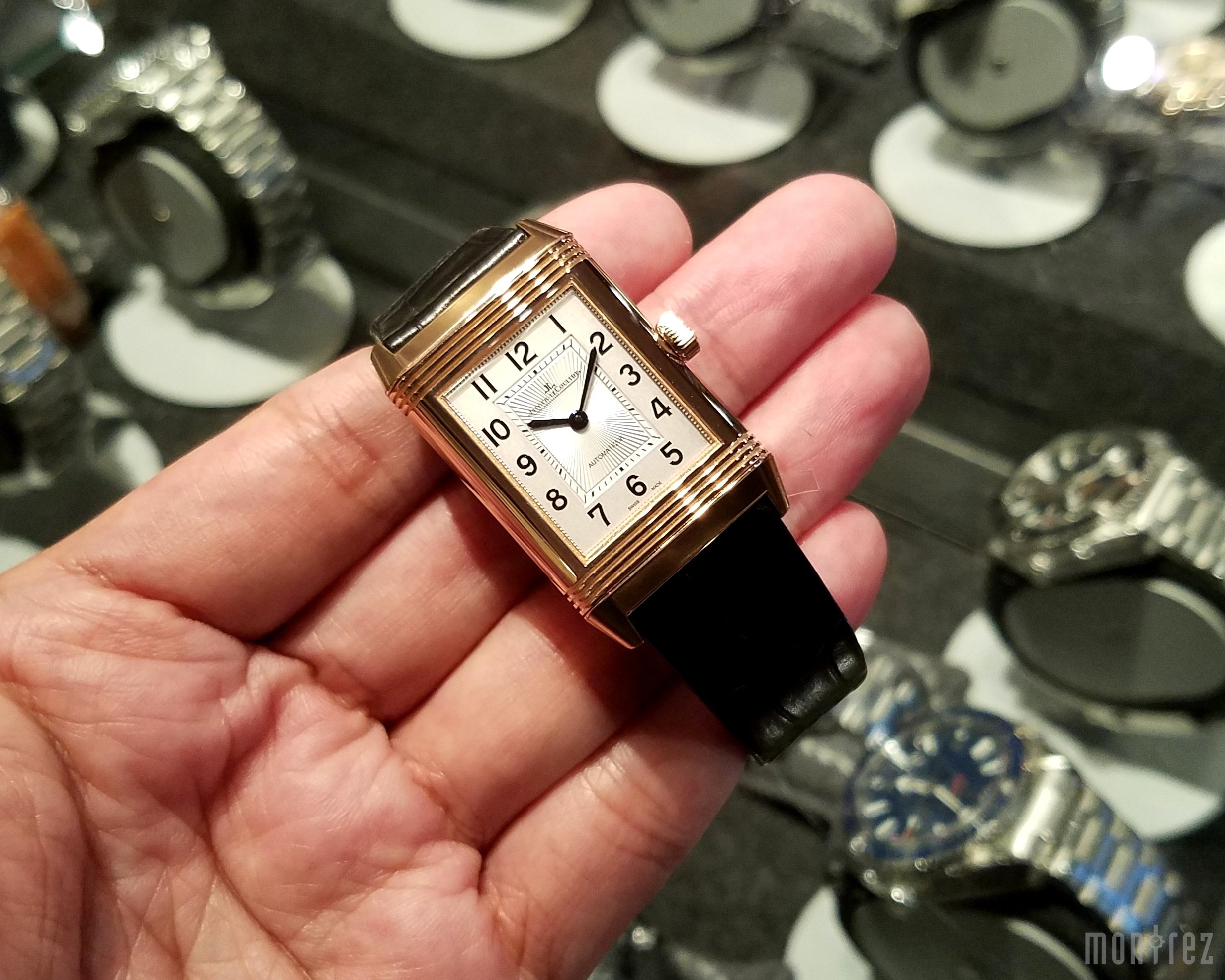 Jaeger-LeCoultre Reverso Classic Medium Duetto Pink Gold 24.4mm Q2572420