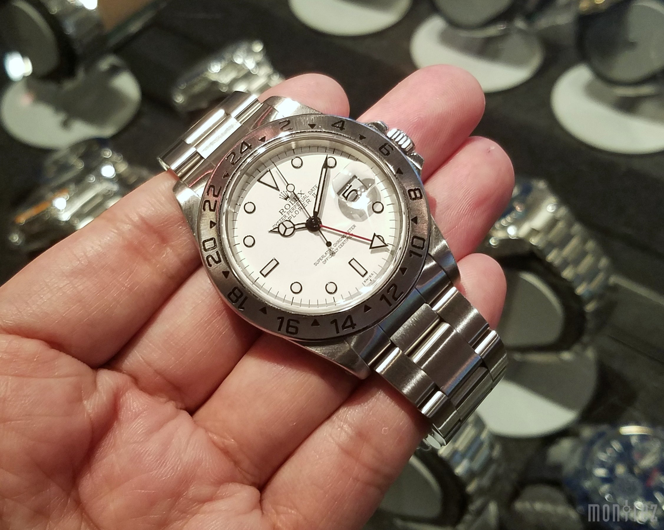 Rolex Explorer II 40mm 16570 White Dial (Out of Production)