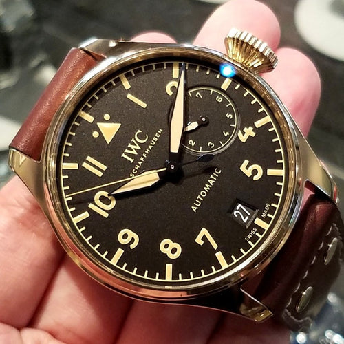 IWC Big Pilot's Watch Heritage 46.2mm IW501005 (2017 Novelty) (Limited Edition of 1,500 Pieces)