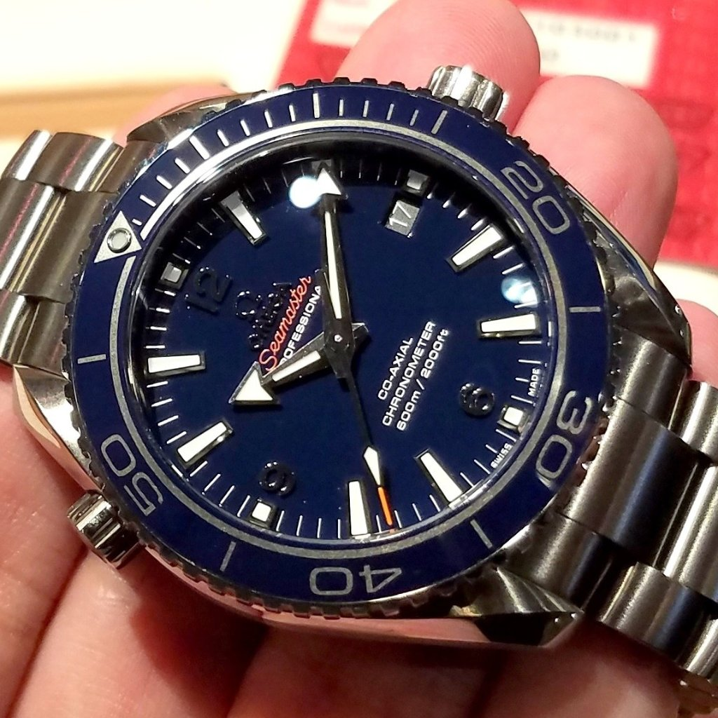 Omega Seamaster Planet Ocean 600m Co-Axial 42mm 232.90.42.21.03.001