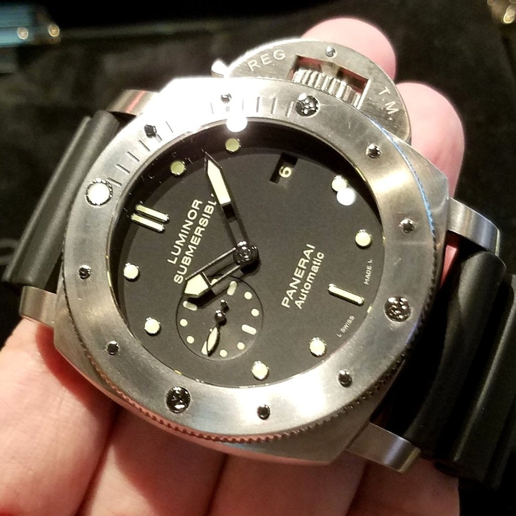 Panerai Luminor Submersible 1950 3 Days Automatic Titanio 47mm PAM00305