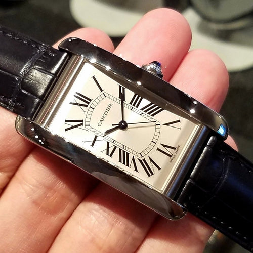 [Brand New Watch] Cartier Tank Americaine Watch 26.6mm WSTA0018